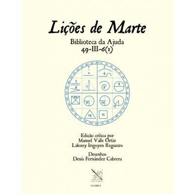 """Libro """"Liçoes de Marte, Biblioteca da Ajuda 49-III-6"""""""