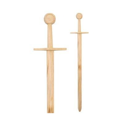 Espada normanda de madera