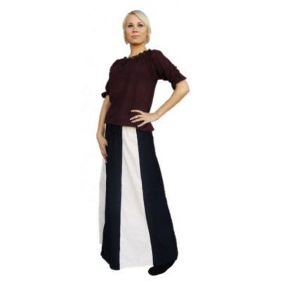 Falda rayada
