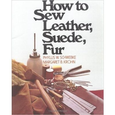 "Libro ""How to Sew Leather, Suede, Fur."""