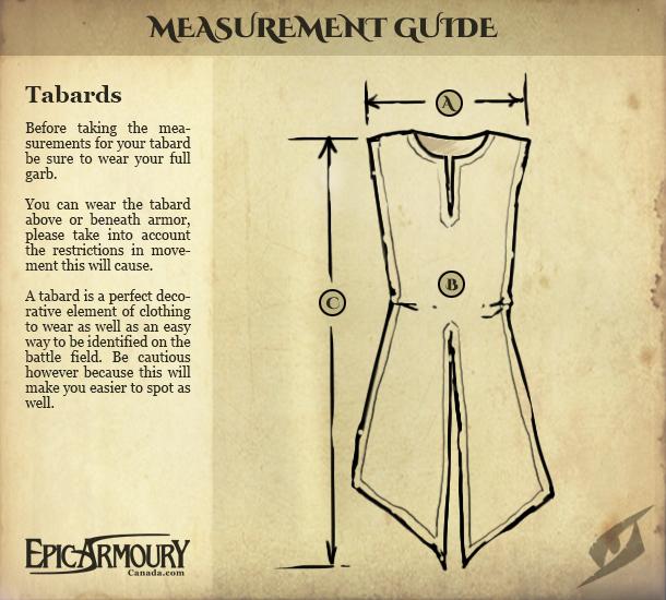 Guía de tallas Sobrevesta